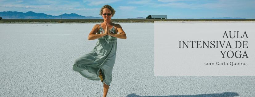 Aula Intensiva de Yoga